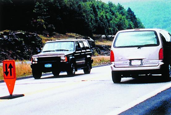 Opposing Traffic Lane Dividers
