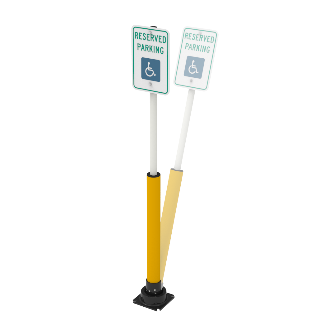 SlowStop® Disabled/Handicap Parking Sign