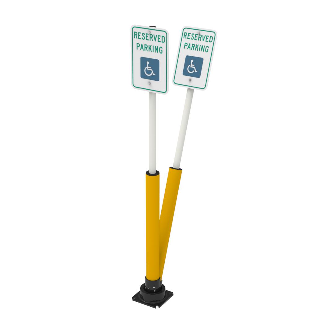 SlowStop® Disabled/Handicap Parking Sign